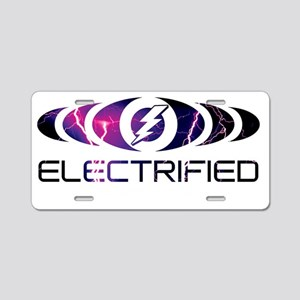 Energize The Music Aluminum License Plate