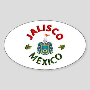 Jalisco Oval Sticker