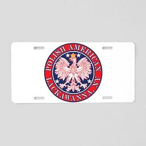 Lackawanna New York Polish Aluminum License Plate
