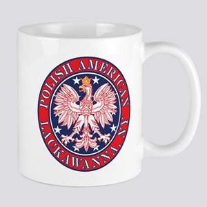 Lackawanna New York Polish Mug