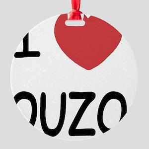 OUZO Round Ornament