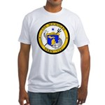 USS MICHIGAN Fitted T-Shirt