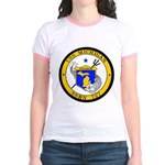 USS MICHIGAN Jr. Ringer T-Shirt