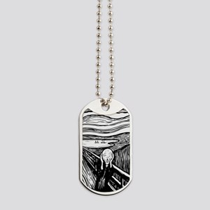 The Scream Dog Tags