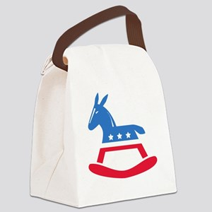 Democrats Rock Canvas Lunch Bag
