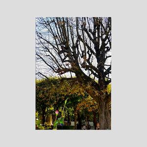 Garden of the Musée Rodin Rectangle Magnet