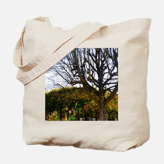 Garden of the Musée Rodin Tote Bag