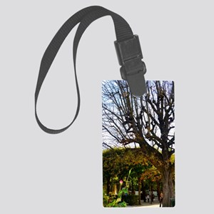 Garden of the Musée Rodin Large Luggage Tag