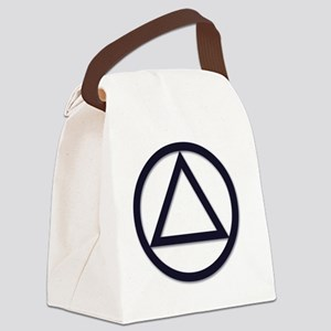 A.A._symbol_LARGE Canvas Lunch Bag