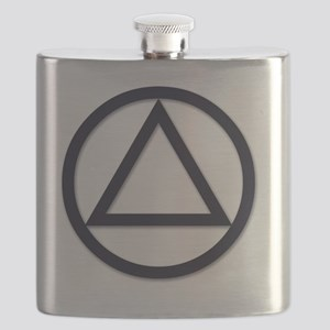 A.A._symbol_LARGE Flask