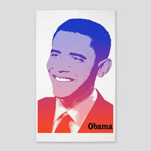 Obama Red White Blue Spirit 3'x5' Area Rug