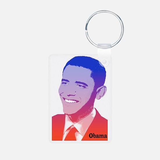 Obama Red White Blue Spiri Keychains