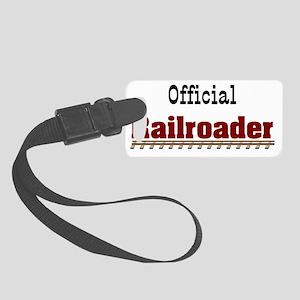 RAILROADER-SHIRT Small Luggage Tag
