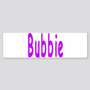 Bubbie Bumper Sticker