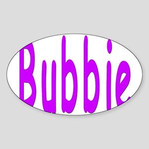 Bubbie Oval Sticker
