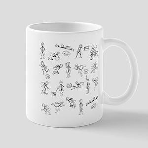 Super Stickman Adventures Mugs