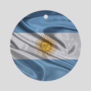 argentinaMP Round Ornament