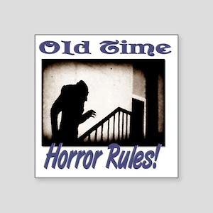 """Old Time Horror Nosferatu 1 Square Sticker 3"""" x 3"""""""