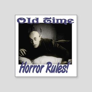 """Old Time Horror Nosferatu 2 Square Sticker 3"""" x 3"""""""