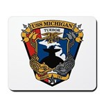 USS MICHIGAN Mousepad