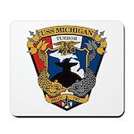 USS MICHIGAN Mousepad