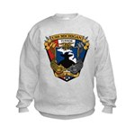 USS MICHIGAN Kids Sweatshirt