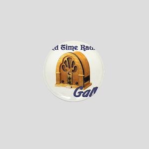 Old Time Radio Gal Mini Button