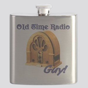 Old Time Radio Guy Flask
