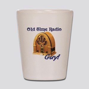 Old Time Radio Guy Shot Glass