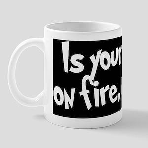 House on Fire Thumbnail Mug
