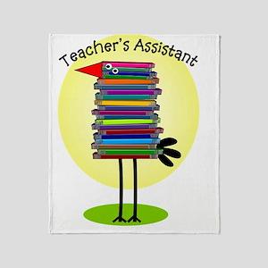 teacher assistant Throw Blanket