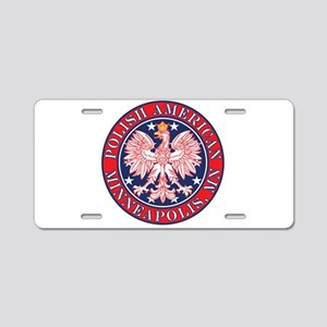 Minneapolis Minnesota Polish Aluminum License Plat