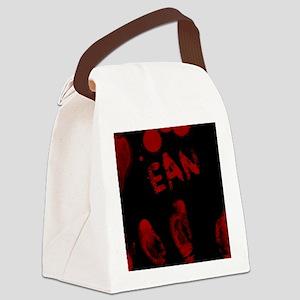 Ean, Bloody Handprint, Horror Canvas Lunch Bag