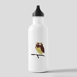 Cute Cartoon Owl Stainless Water Bottle 1.0L