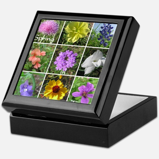 Texas Wildflowers Keepsake Box