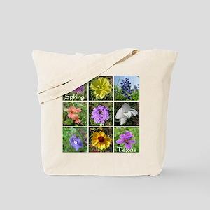Texas Wildflowers Tote Bag