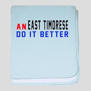 East Timorese Do It Better baby blanket