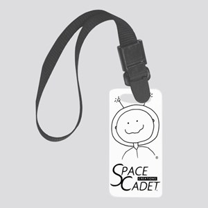 SpaceCadet Vertical Small Luggage Tag