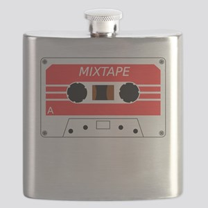 Red Cassette Tape Flask