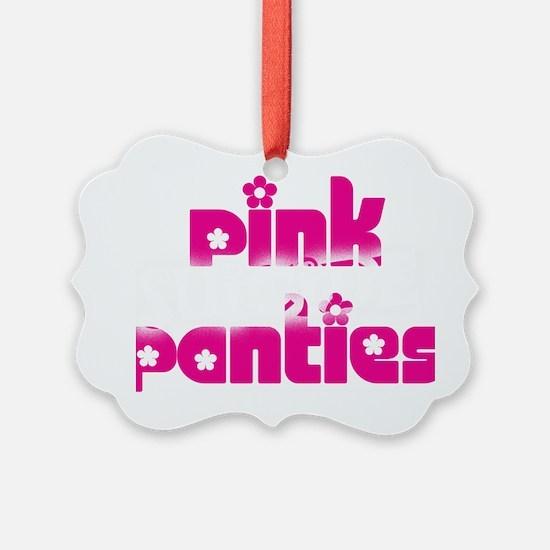 PINK SUICIDE PANTIES Logo Ornament