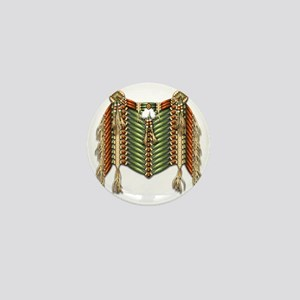 Native American Breastplate - 3 Mini Button