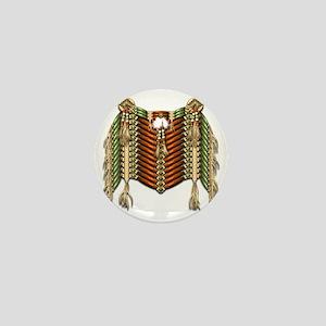 Native American Breastplate - 4 Mini Button