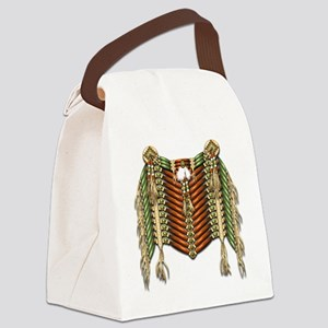 Native American Breastplate - 4 Canvas Lunch Bag