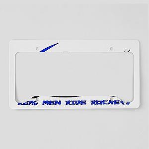 RealMenRocketDesign2 License Plate Holder