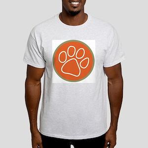 Paw print logo Light T-Shirt