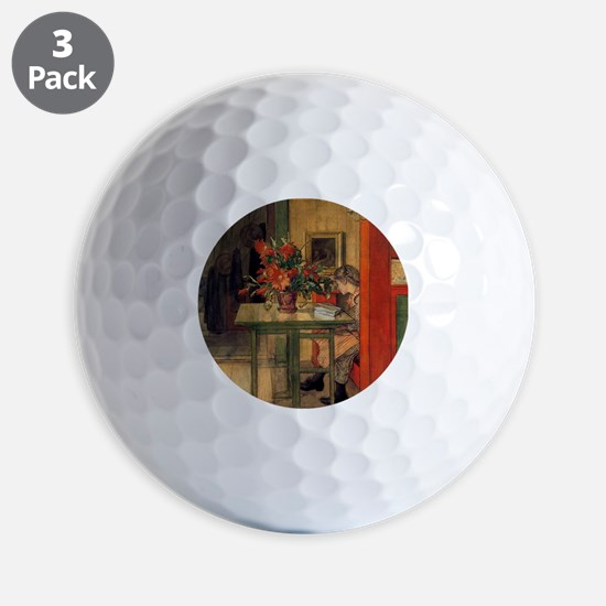 Carl Larsson Golf Ball