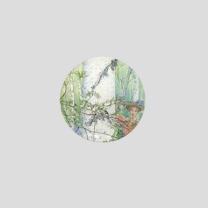 spring by Carl Larsson Mini Button