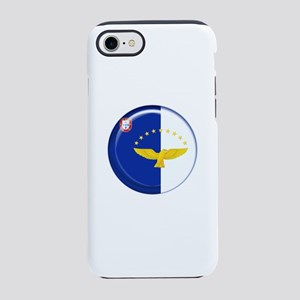 Azores islands flag iPhone 7 Tough Case