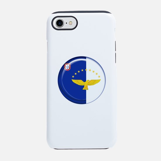 Azores islands flag iPhone 7 Tough Case