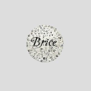 Brice, Matrix, Abstract Art Mini Button